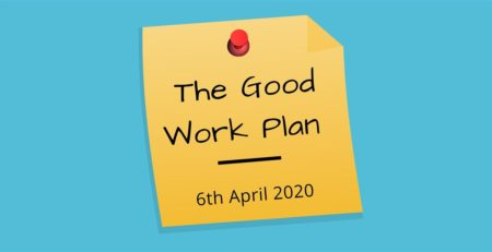 good work plan 2020