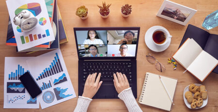 showing how to onboard remotely for new employees
